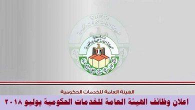 الهيئة العامة للخدمات الحكومية
