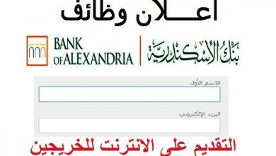 وظايف بنك الاسكندرية
